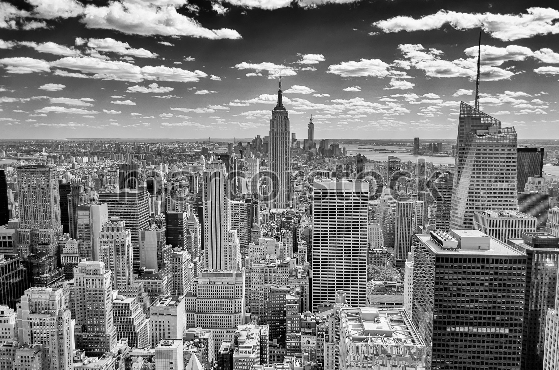 Empire State Building 2013 New York Skyline and T...